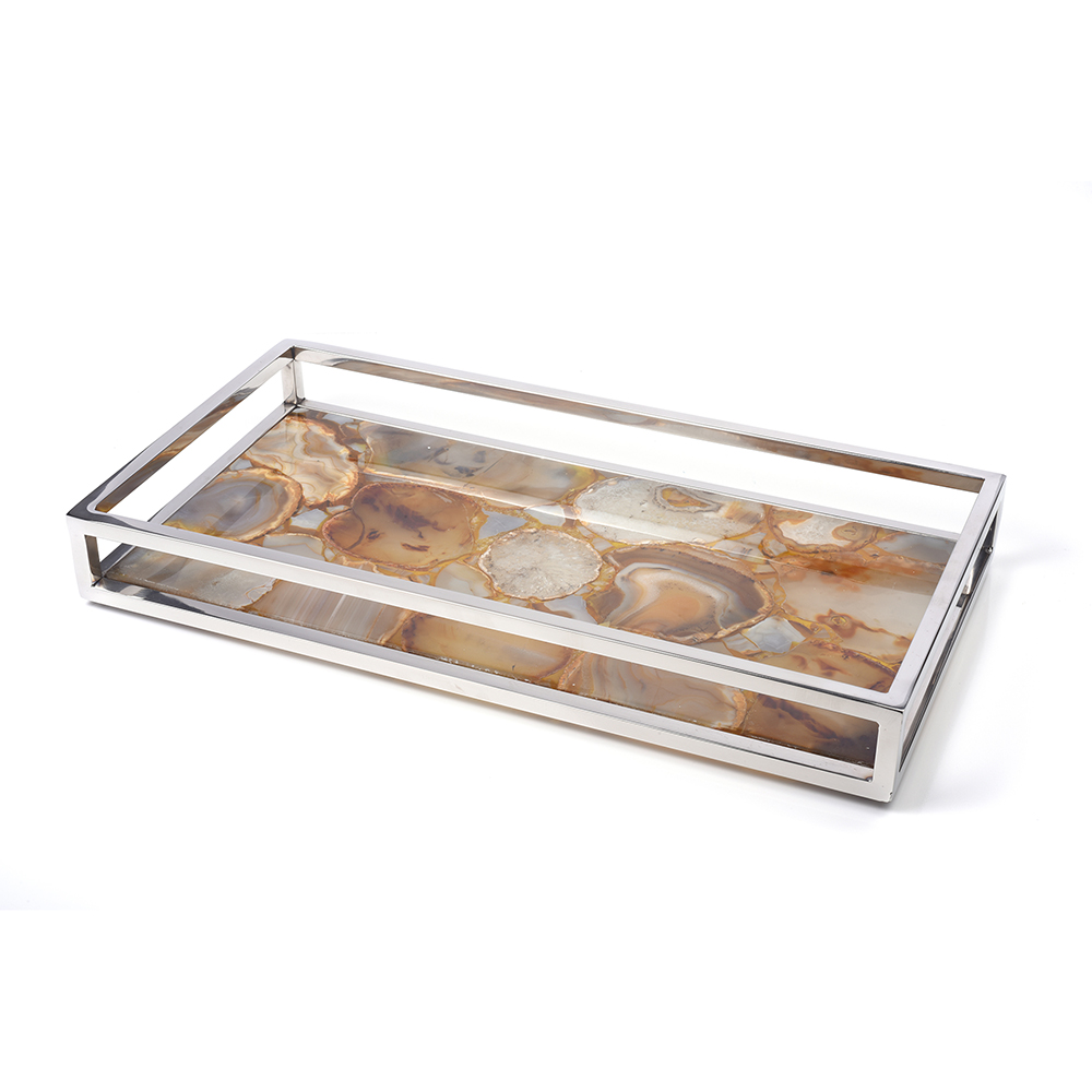 Amber Agate Vanity Tray 7655 Impulse